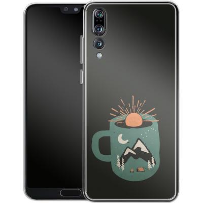 Huawei P20 Pro Silikon Handyhuelle - Mountain Morning Wakeup von ND Tank