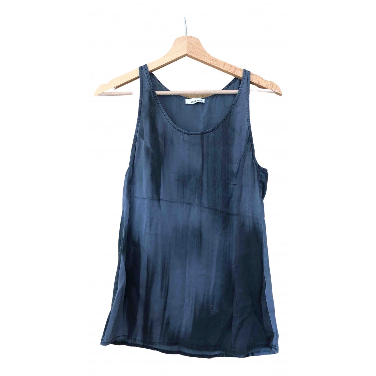 Stine Goya - Top   pour femme en soie - gris