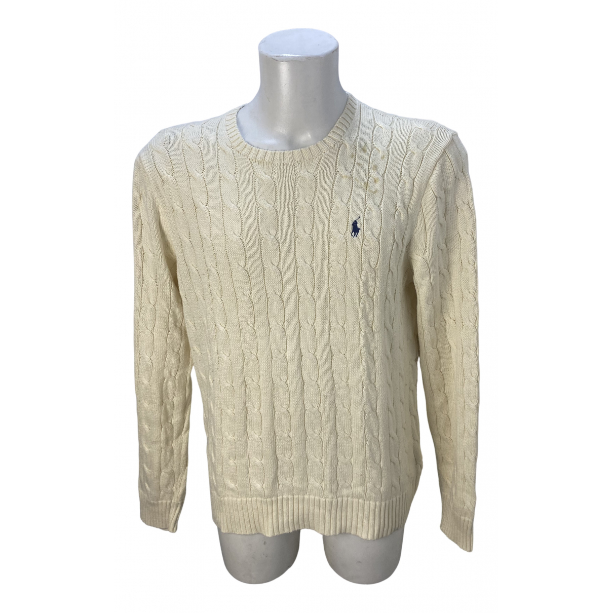 Polo Ralph Lauren \N White Cotton Knitwear & Sweatshirts for Men L International