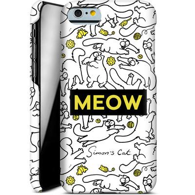Apple iPhone 6s Smartphone Huelle - Meow von Simons Cat