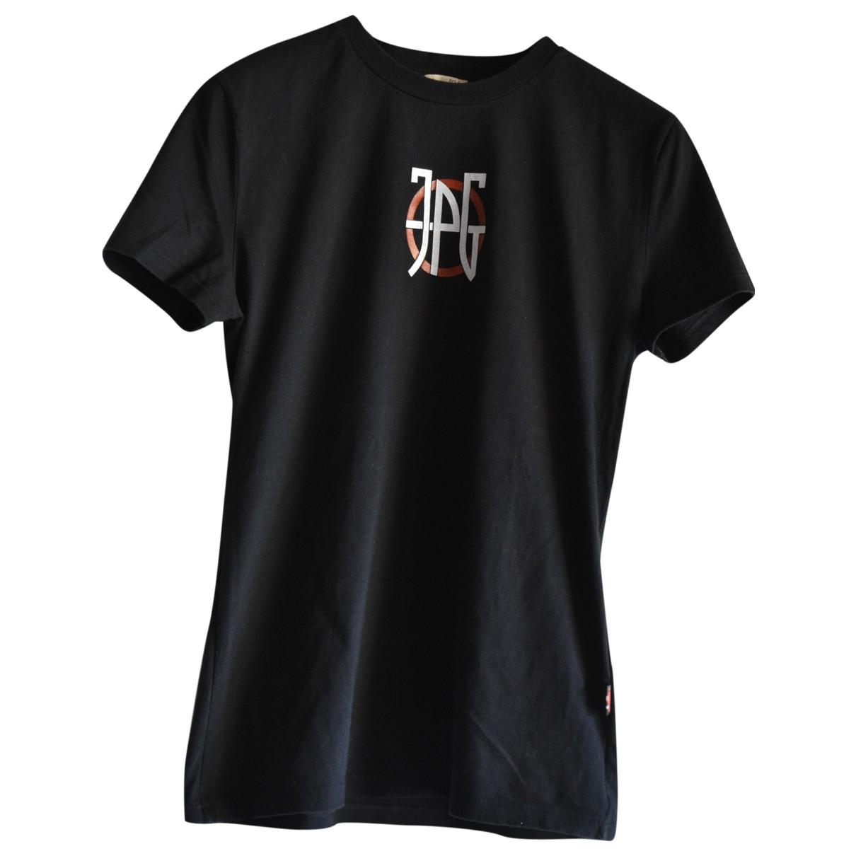 Jean Paul Gaultier \N Black Cotton  top for Women XL International