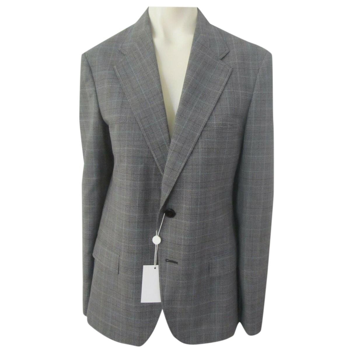 Maison Martin Margiela \N Grey Wool jacket  for Men 48 IT