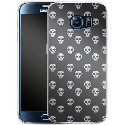 Samsung Galaxy S6 Silikon Handyhuelle - Digital Skulls von caseable Designs