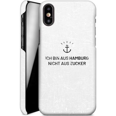 Apple iPhone XS Smartphone Huelle - Ich Bin Aus Hamburg von caseable Designs
