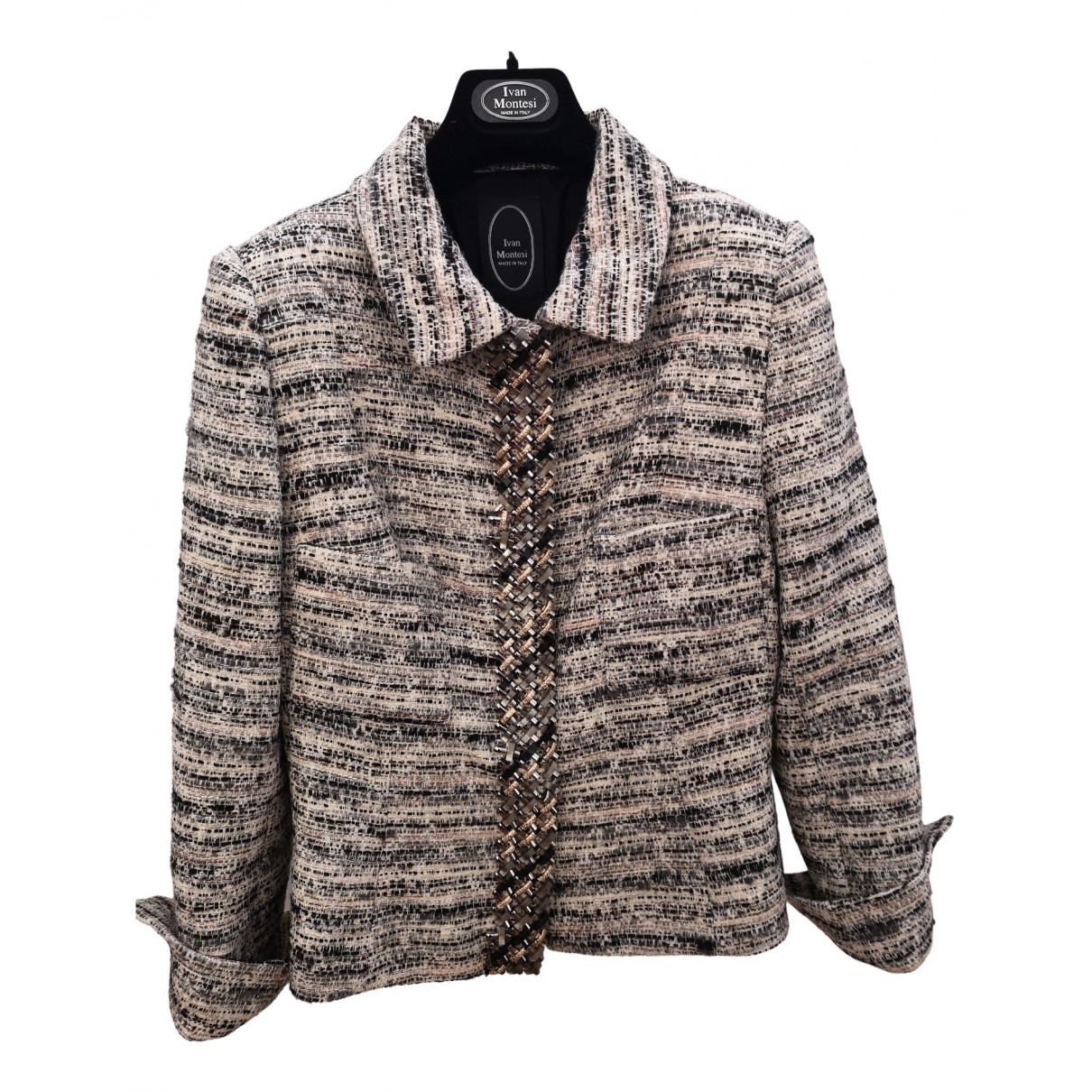 Non Signé / Unsigned N Multicolour jacket for Women 38 FR