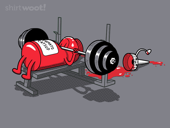 Bench Pressed T Shirt