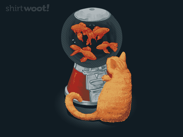 Goldfish Dispenser T Shirt
