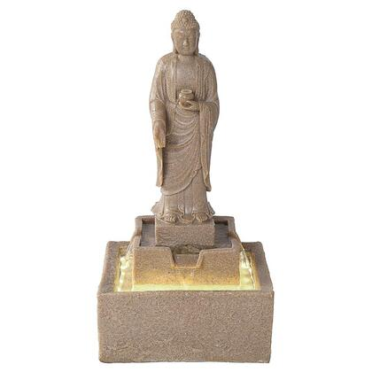 QN164006 Buddha Fountain Square Base W/