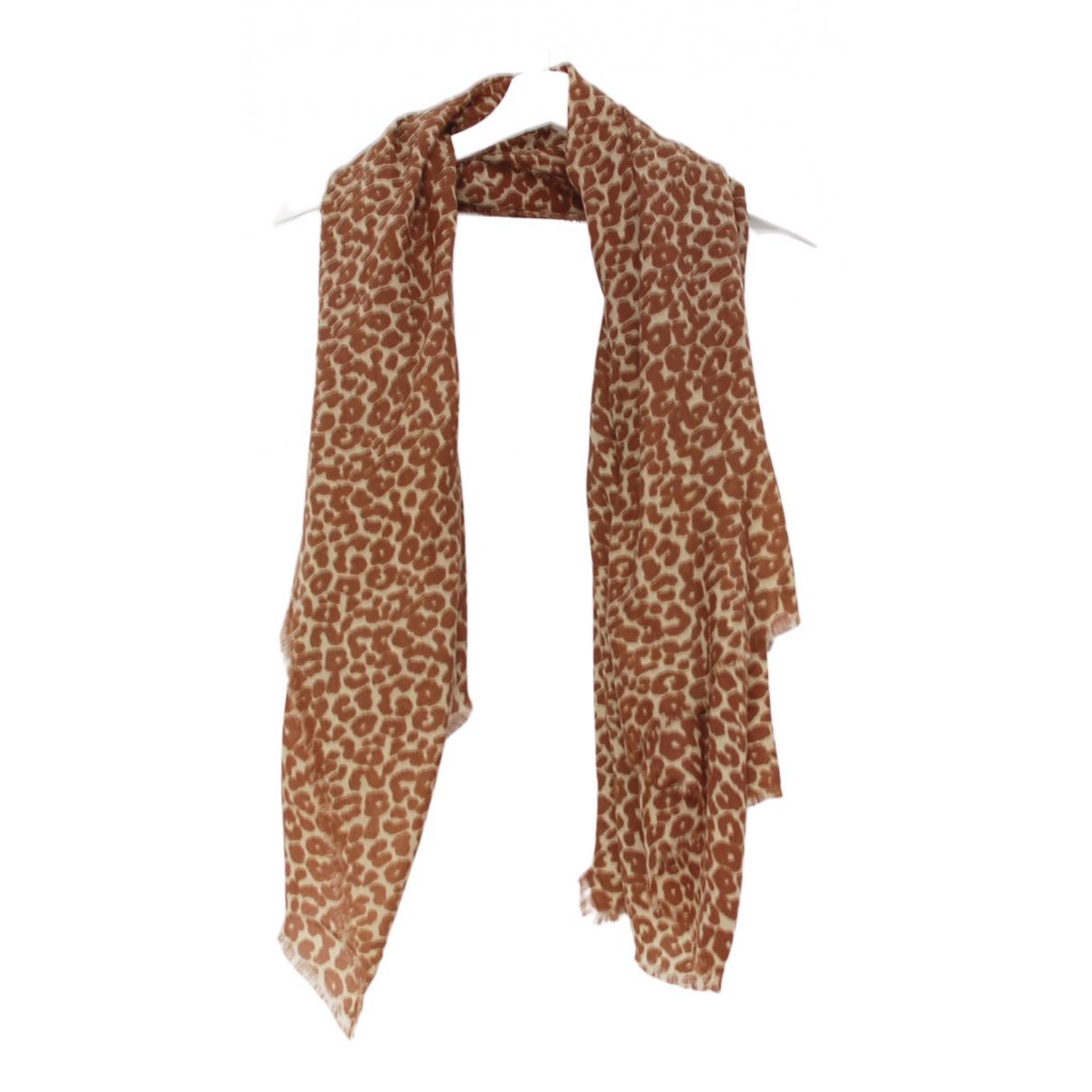 Max Mara N Brown Wool scarf for Women N