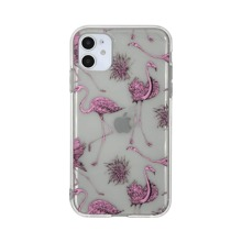 1pc Flamingo Print iPhone Case