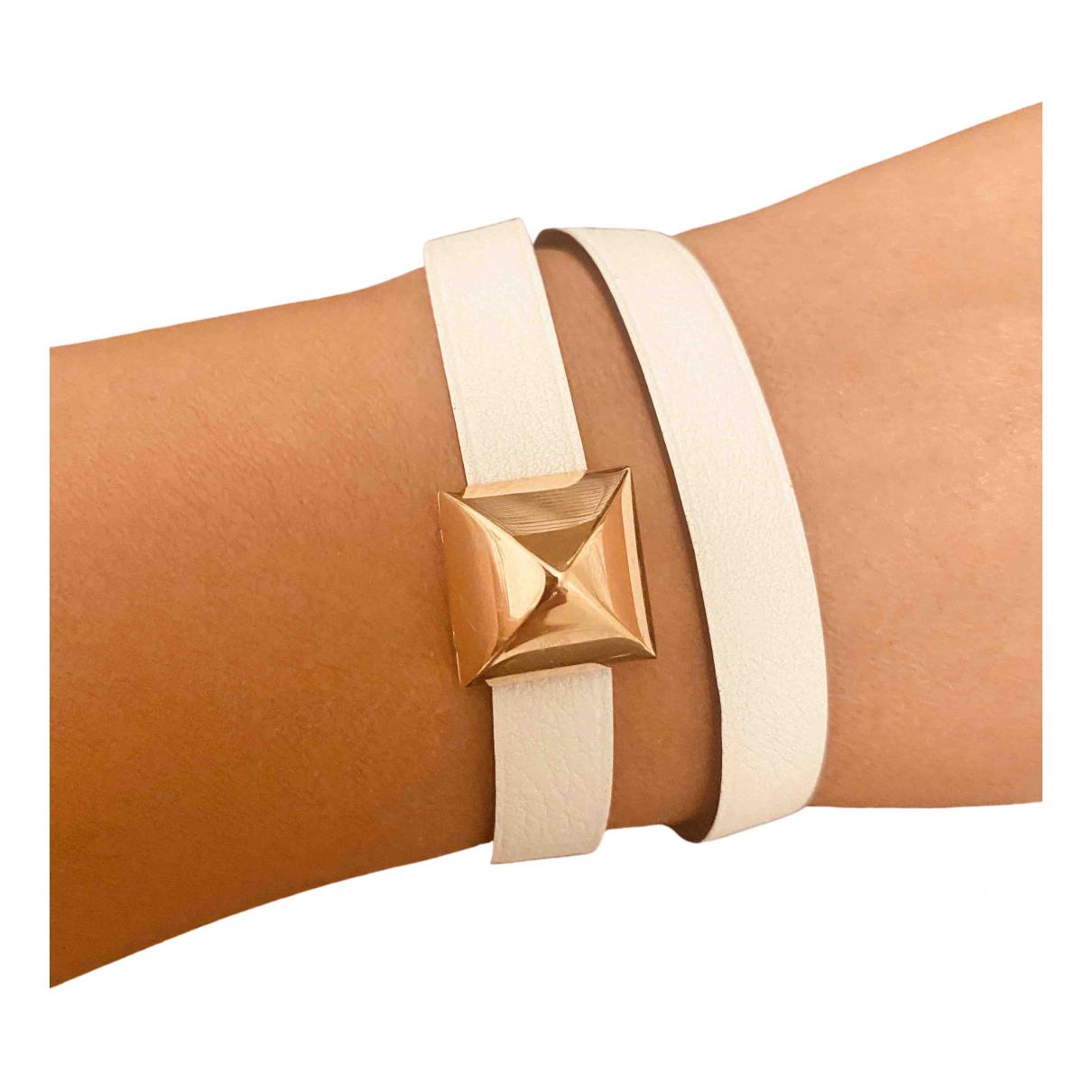Hermes - Bracelet   pour femme en cuir - multicolore