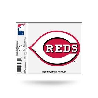 Cincinnati Reds Logo Window Static Cling Decal Free Shipping! Mlb 3X4 Inches - M (M)