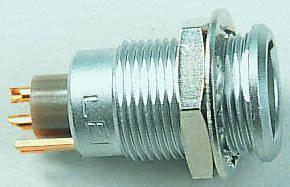 Lemo Connector, 8 contacts Panel Mount Socket, Solder