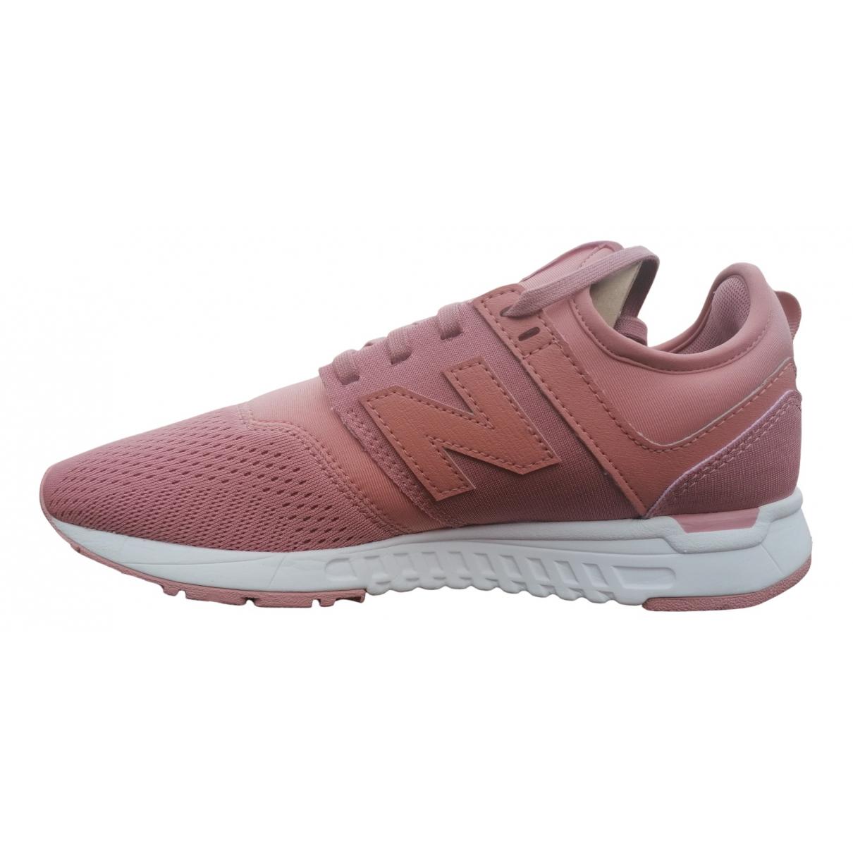 New Balance \N Sneakers in  Rosa Veloursleder