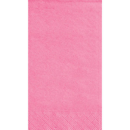 Serviettes Serviette Invité Party Couleur unie 33 * 40cm 13 * 16In 2-Hot Hot Pink 20Pcs