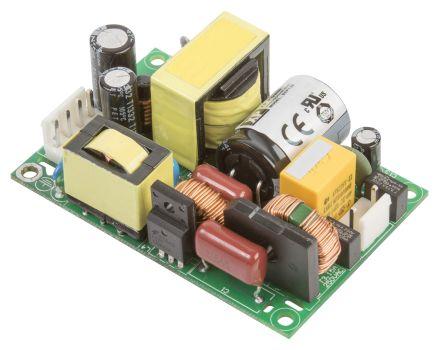 XP Power , 130W AC-DC Converter, 48V dc, Open Frame, Medical Approved