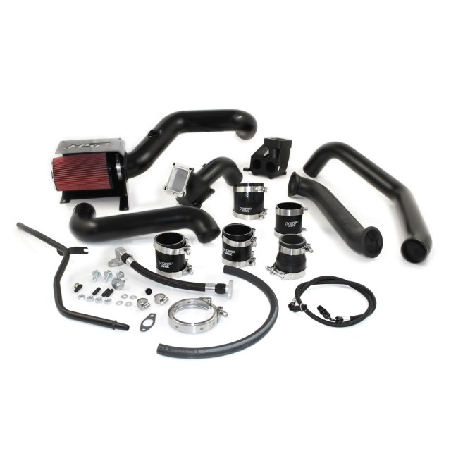 2006-2007 Chevrolet / GMC S300 Single Install Kit No Turbo Satin Black HSP Diesel 314-HSP-SB