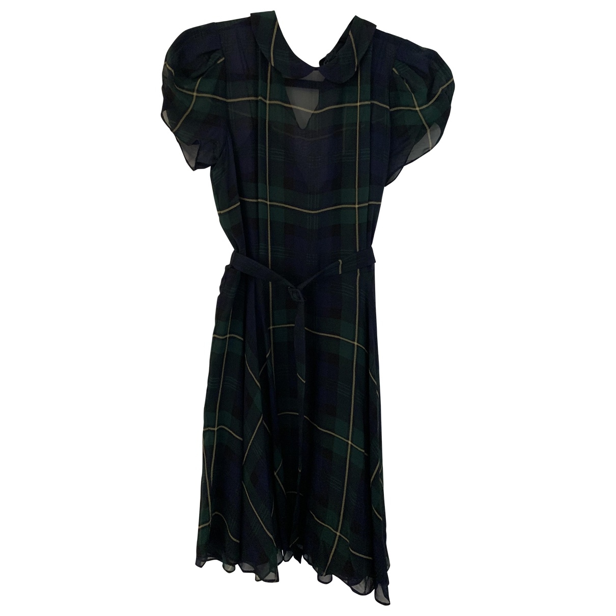 Polo Ralph Lauren - Robe   pour femme en soie - multicolore