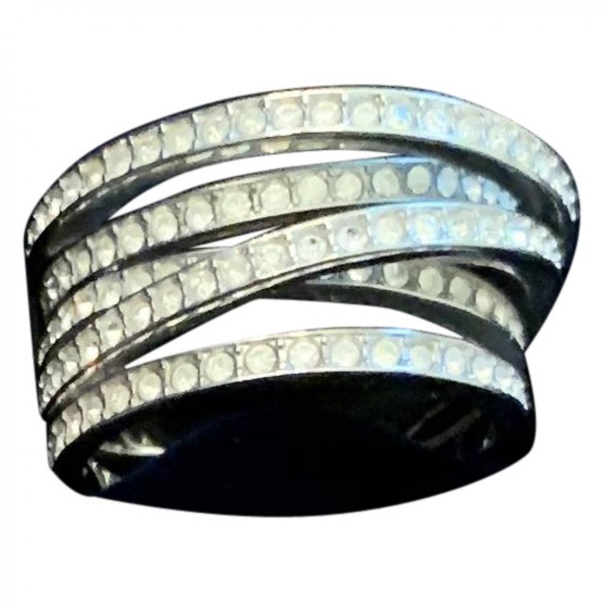 Swarovski \N Ring in  Silber Metall