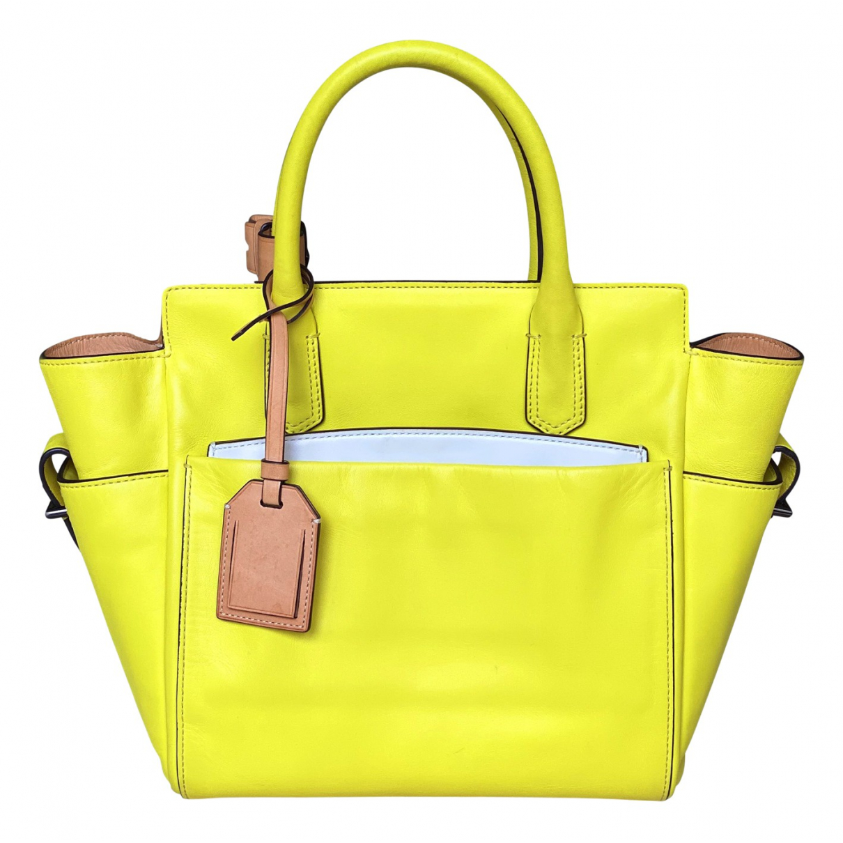 Reed Krakoff \N Yellow Leather handbag for Women \N