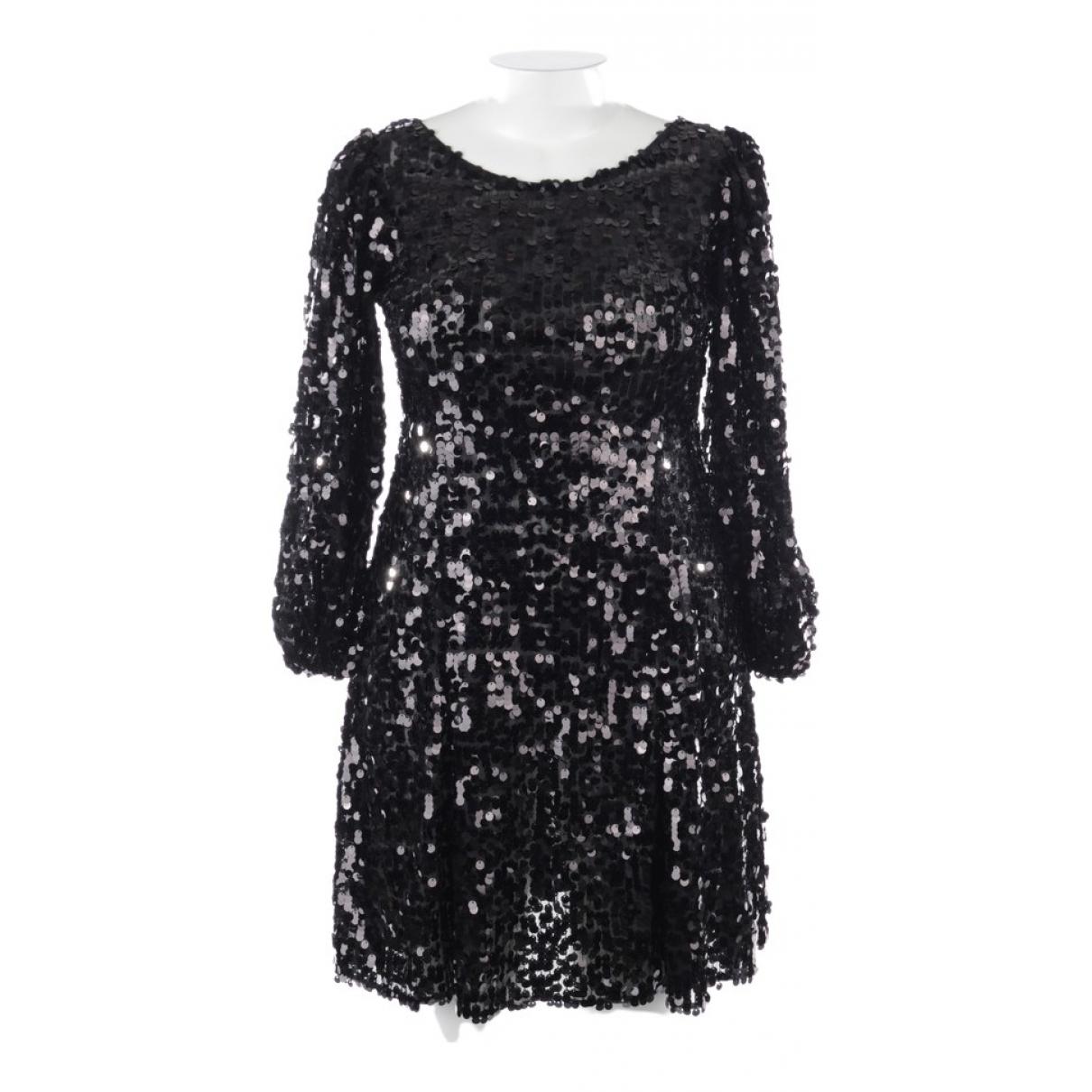 Dolce & Gabbana \N Kleid in  Braun Synthetik