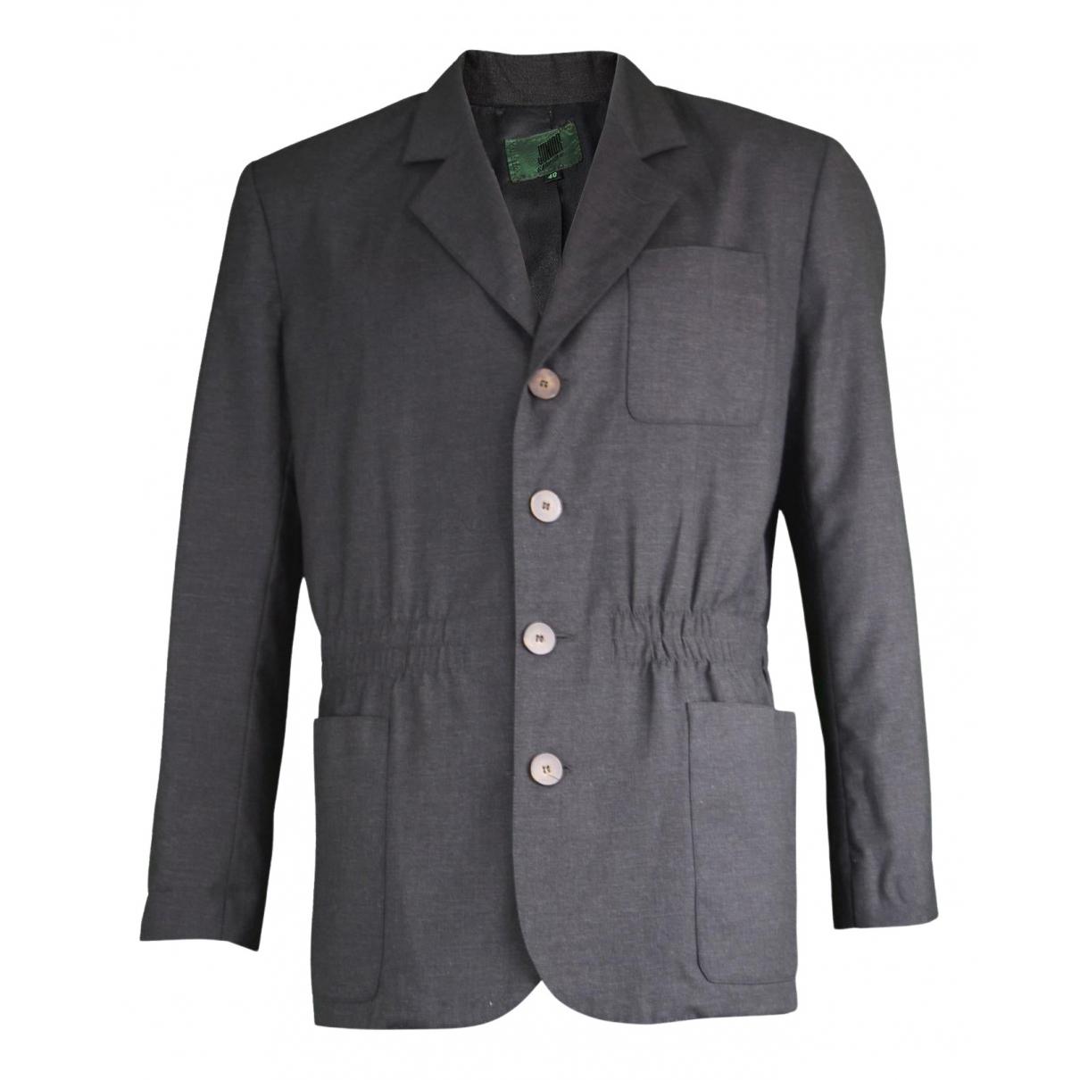 Gaultier Junior \N Jacke in  Grau Wolle