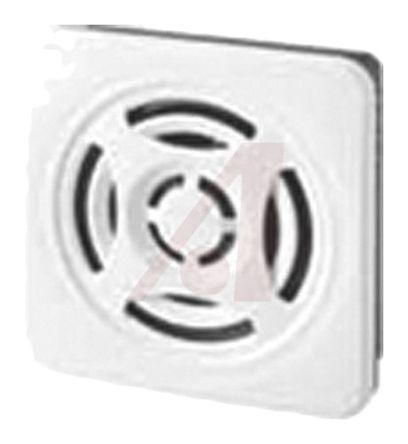 Patlite BSV Off-White 15 Tone Electronic Sounder ,10.8 → 26.4 V dc, 87dB at 1 Metre, IP54