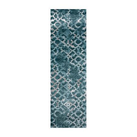 Momeni Monterey Rectangular Indoor Rugs, One Size , Blue
