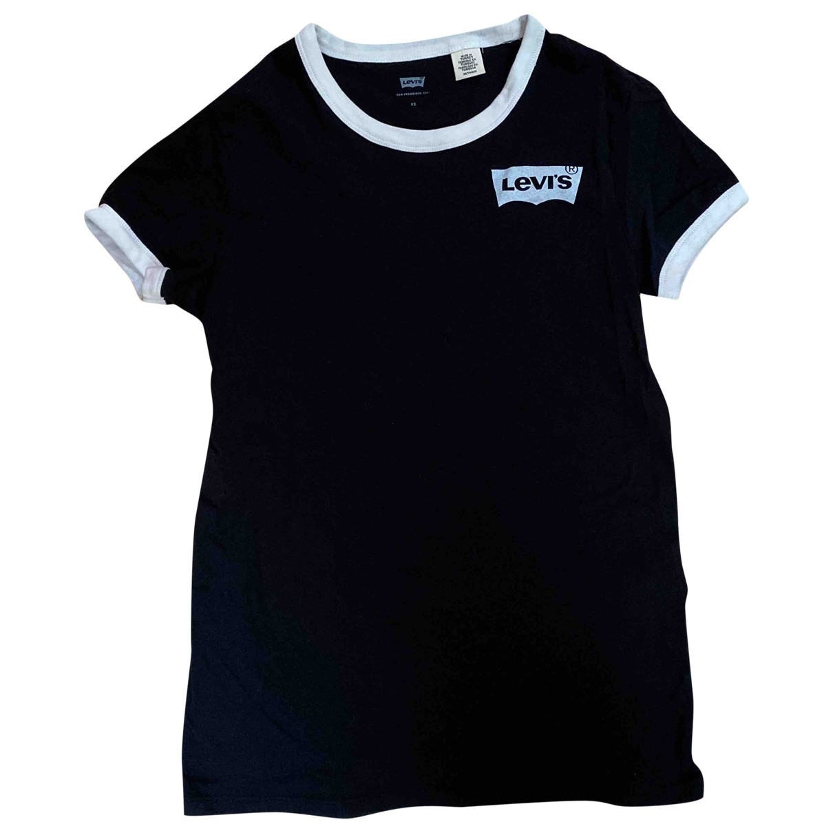 Levi's \N Black Cotton  top for Women XS International