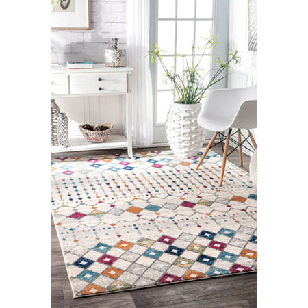 nuLoom Moroccan Blythe Rug, One Size , Multiple Colors