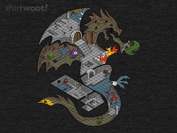 Dungeons In Dragons Remix T Shirt