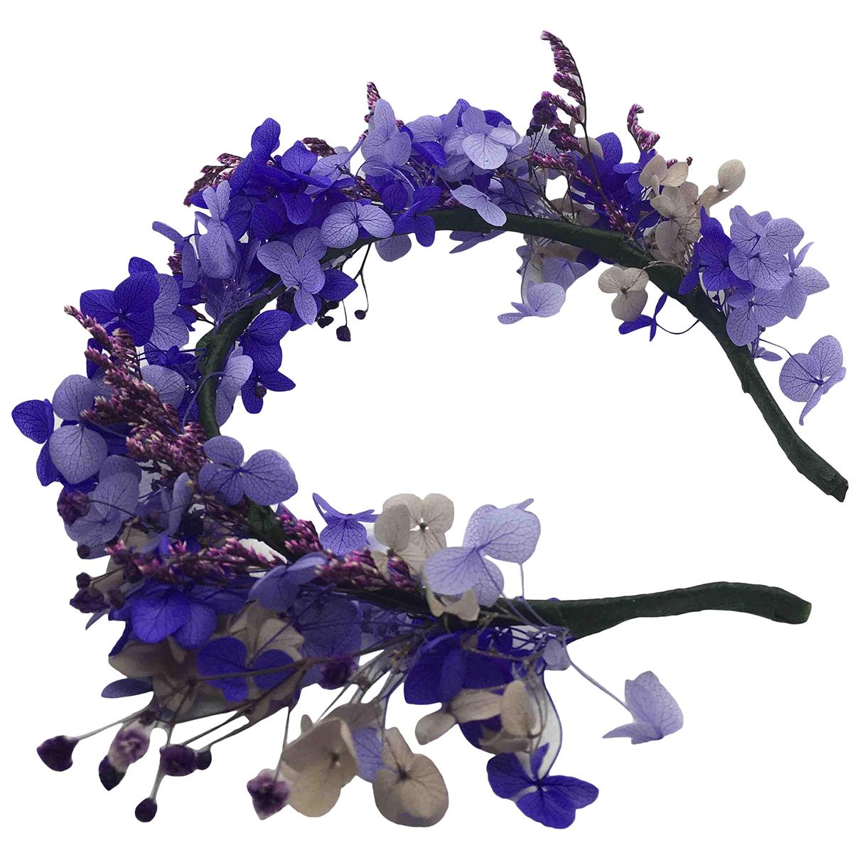 Non Signe / Unsigned Motifs Floraux Haarschmuck in  Bunt Polyamid
