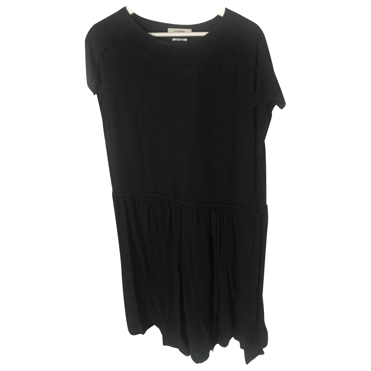Isabel Marant Etoile \N Kleid in  Schwarz Seide