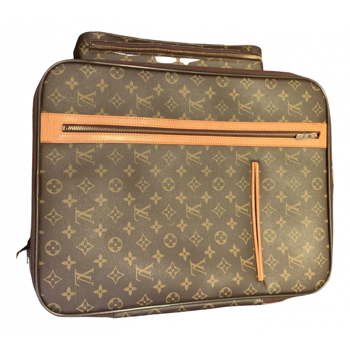 Louis Vuitton Pegase Brown Cloth Travel bag for Women N