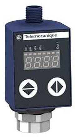 Telemecanique Sensors Air, Fresh Water, Hydraulic Oil, Refrigerator Fluid Differential Pressure Switch, Analogue,