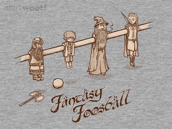 Fantasy Foosball T Shirt