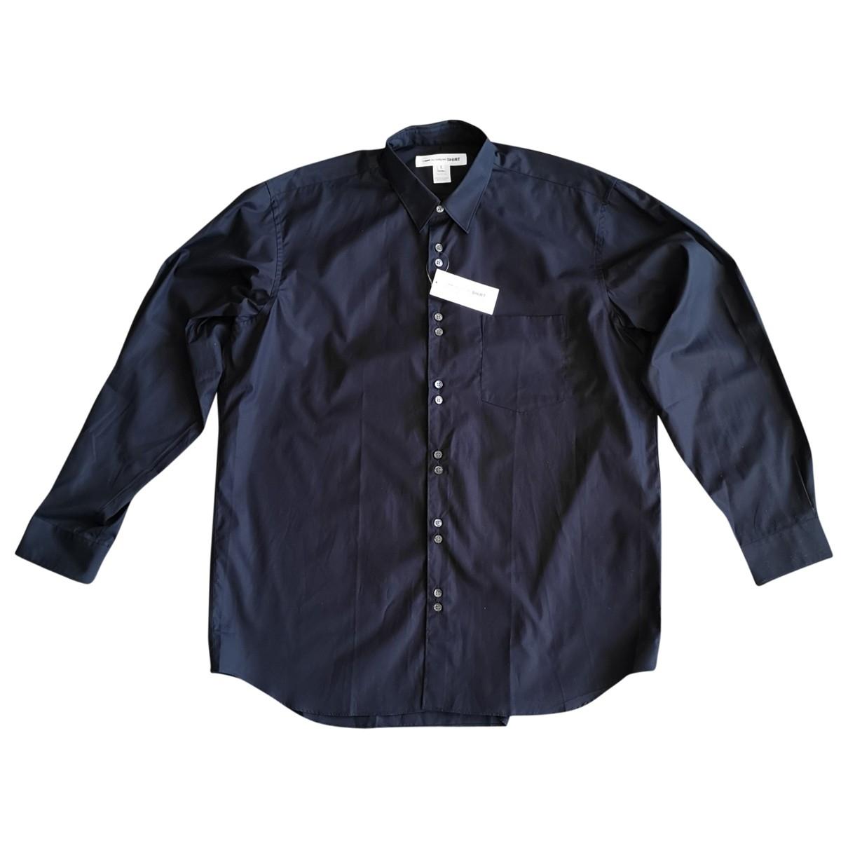 Comme Des Garcons \N Navy Cotton Shirts for Men XL International