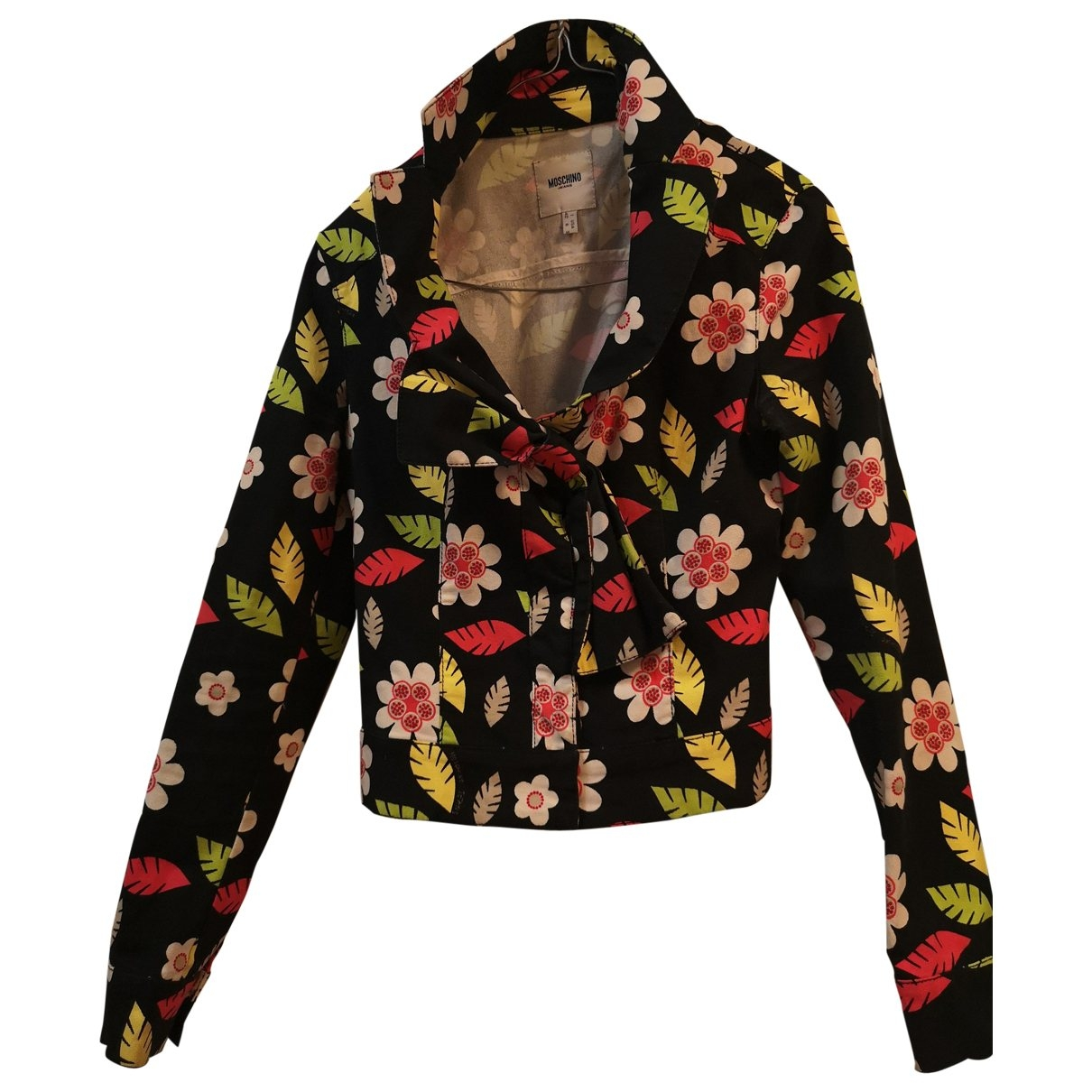 Moschino \N Multicolour Cotton jacket for Women 36 FR