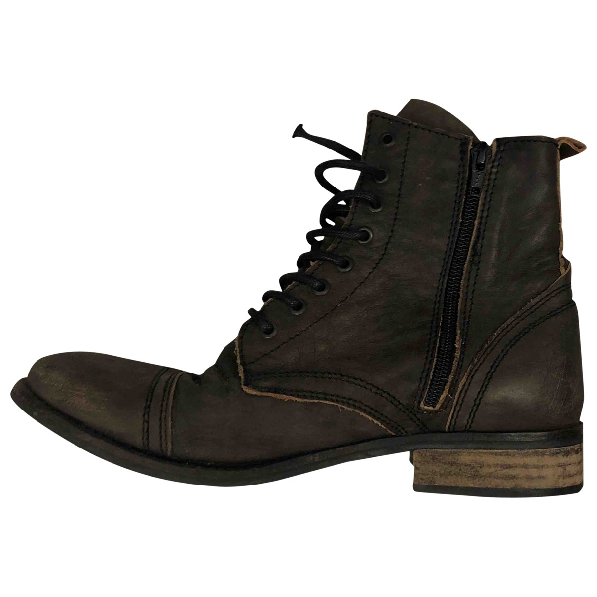 Kurt Geiger \N Brown Leather Ankle boots for Women 40 EU