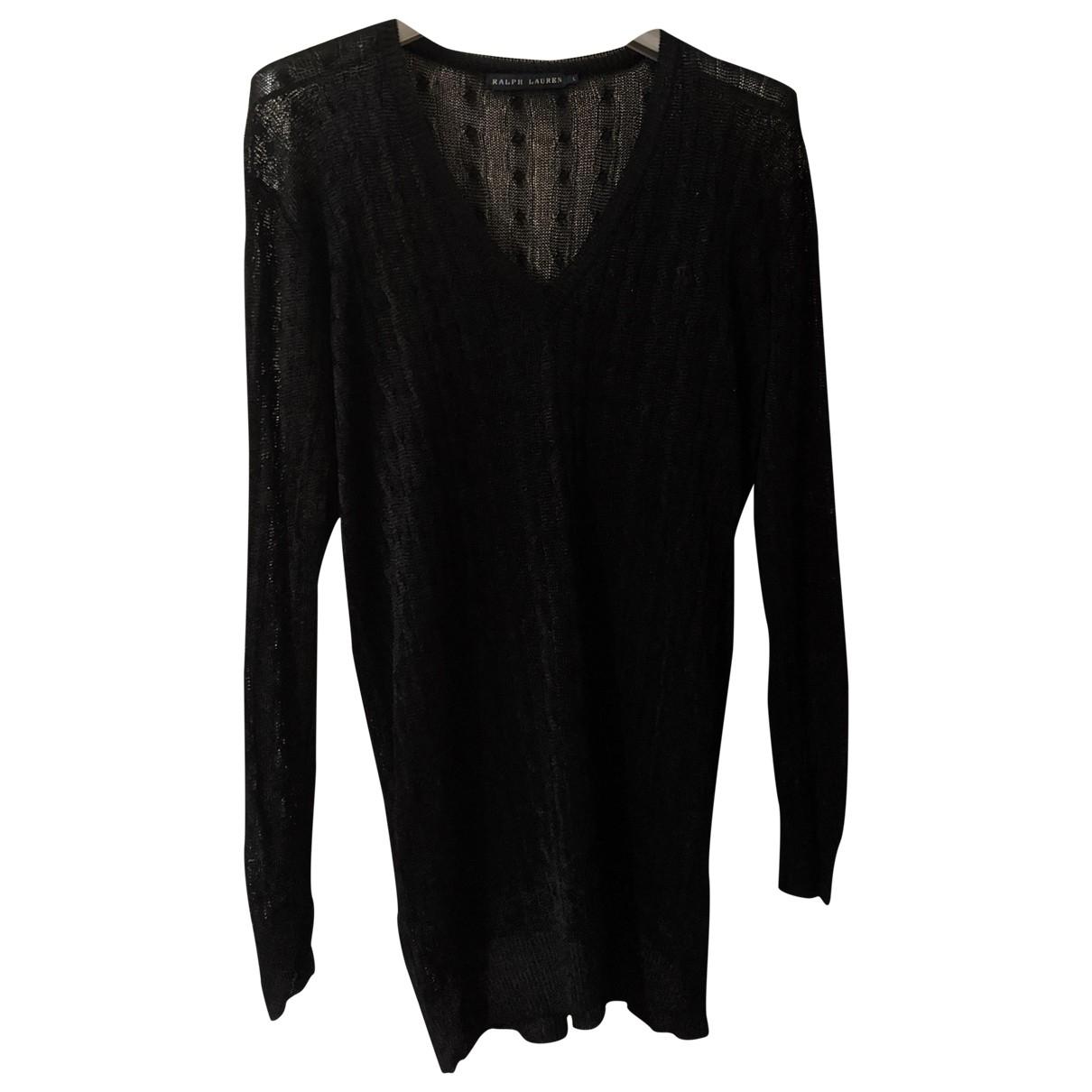 Ralph Lauren \N Pullover in  Schwarz Wolle