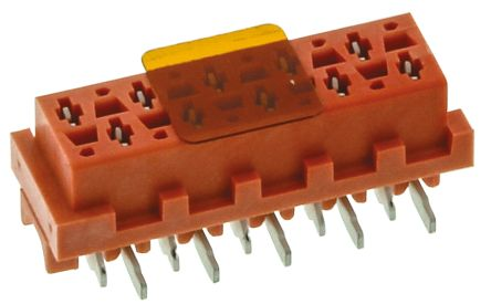 TE Connectivity , Micro-MaTch 1.27mm Pitch 10 Way 2 Row Straight PCB Socket, Surface Mount, Solder Termination (5)
