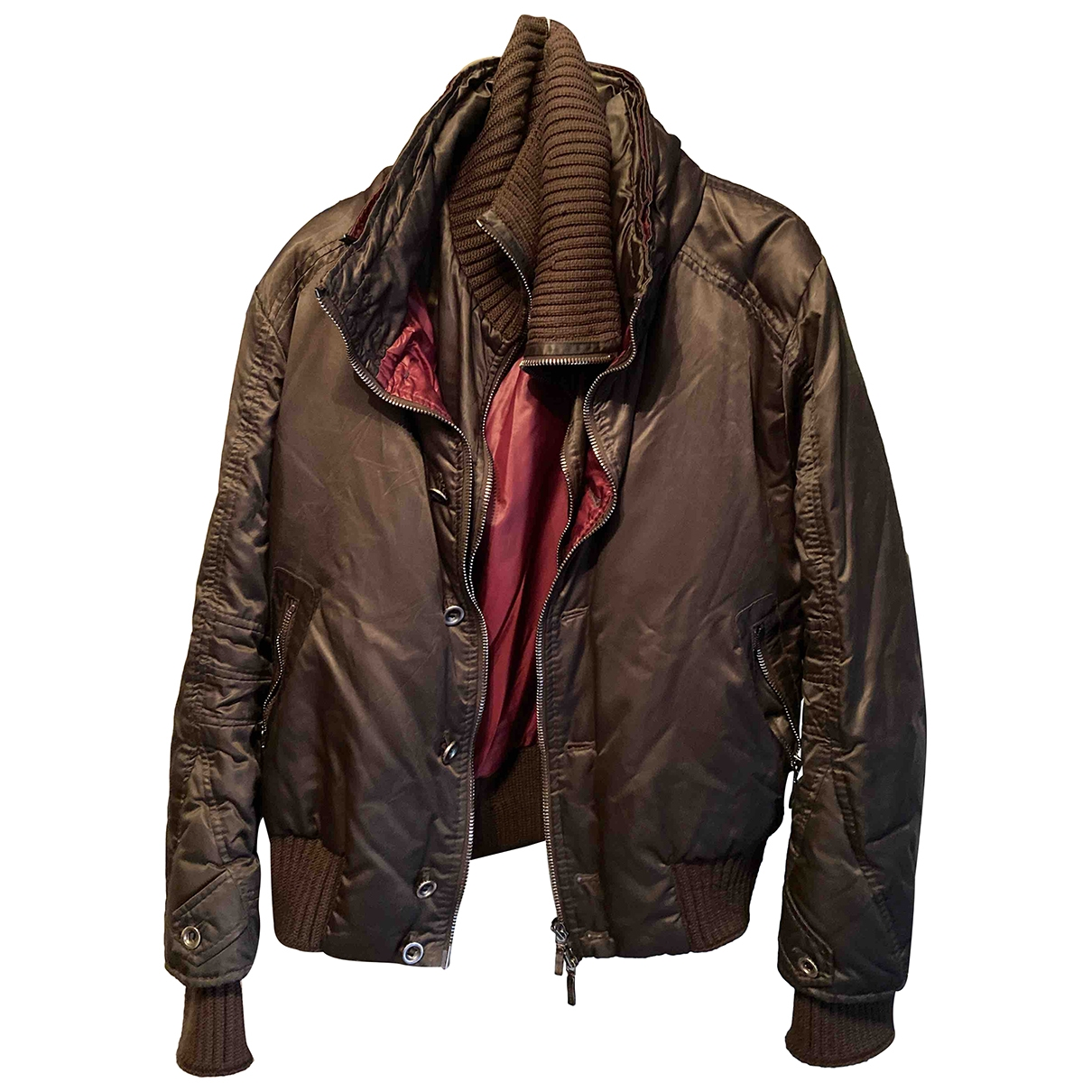 Ermanno Scervino \N Brown Cotton jacket  for Men 50 IT