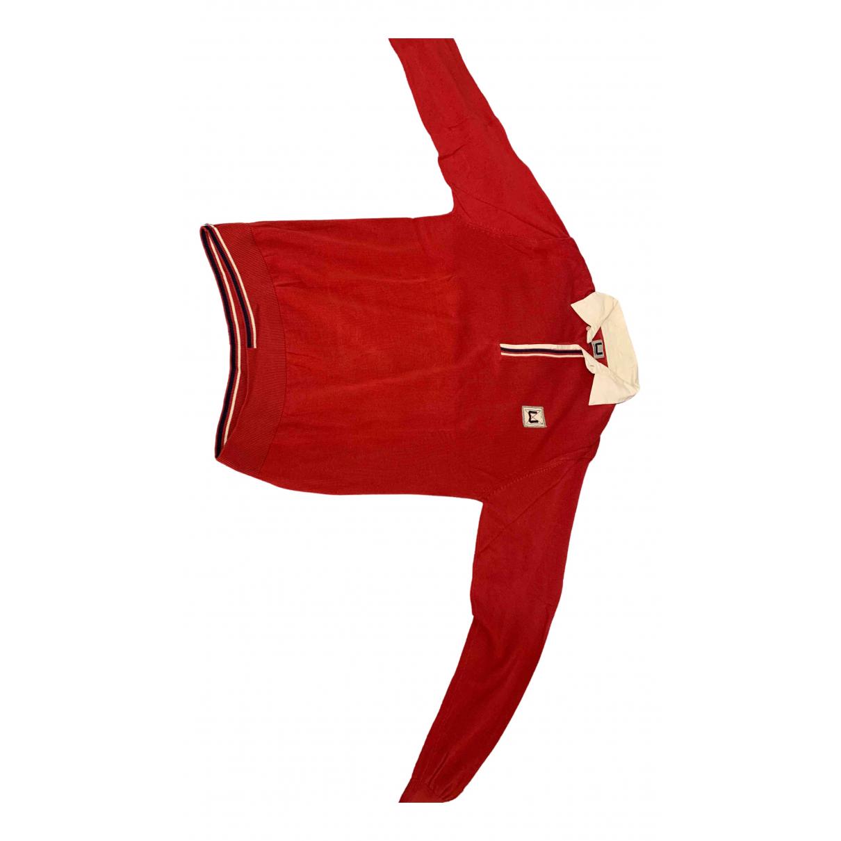 Adolfo Dominguez - Polos   pour homme en coton - rouge