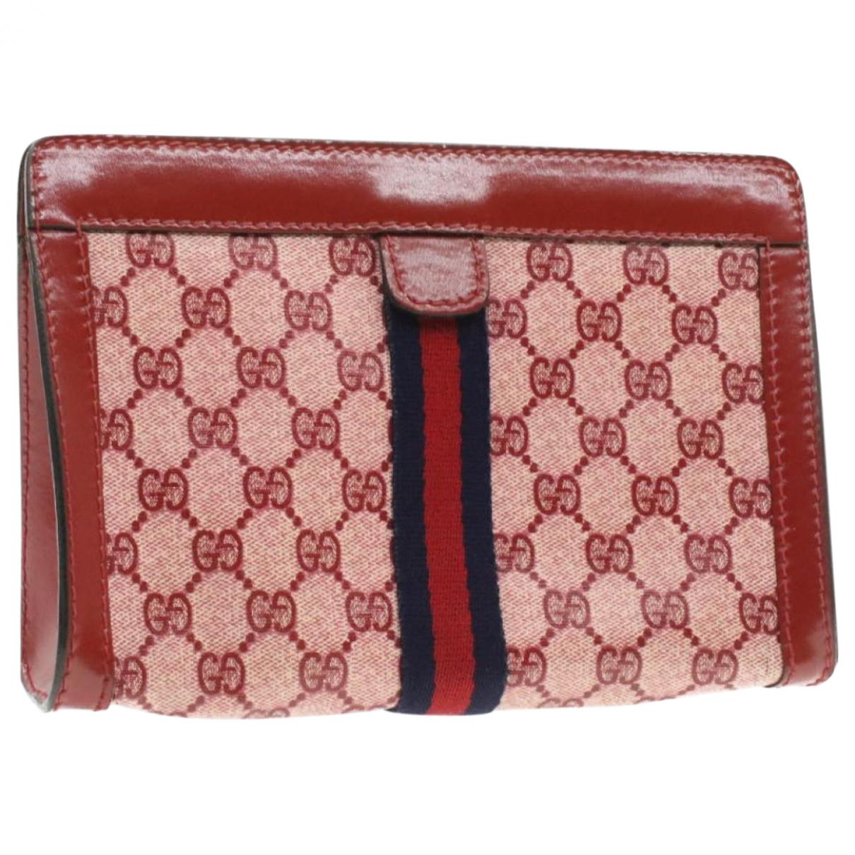 Gucci N Red Cloth Clutch bag for Women N