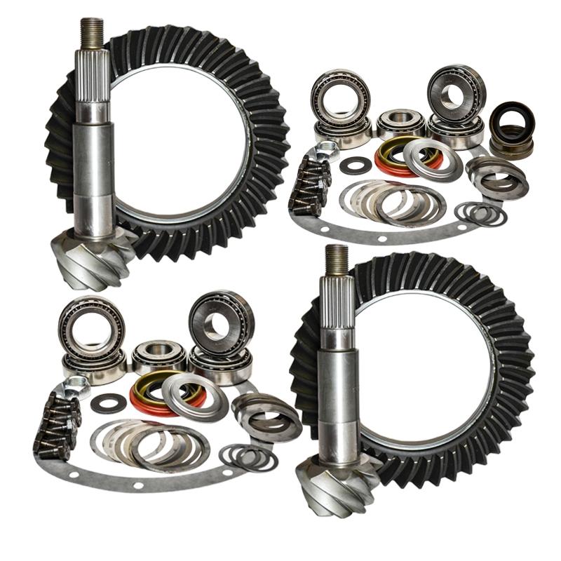 03-06 Jeep Wrangler TJ Rubicon 4.56 Ratio Gear Package Kit Nitro Gear and Axle