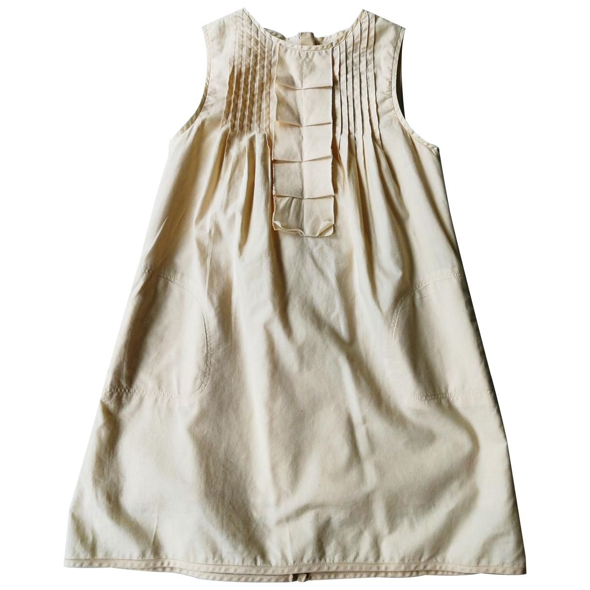 Chloe \N Kleid in  Beige Baumwolle