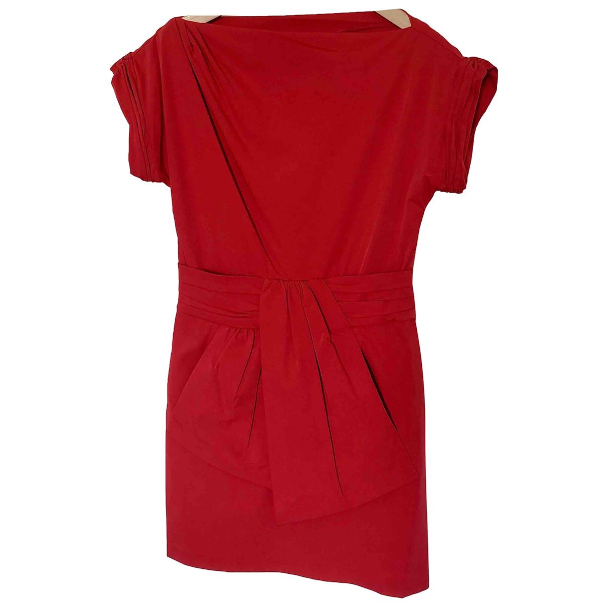 Diane Von Furstenberg - Robe   pour femme - rouge
