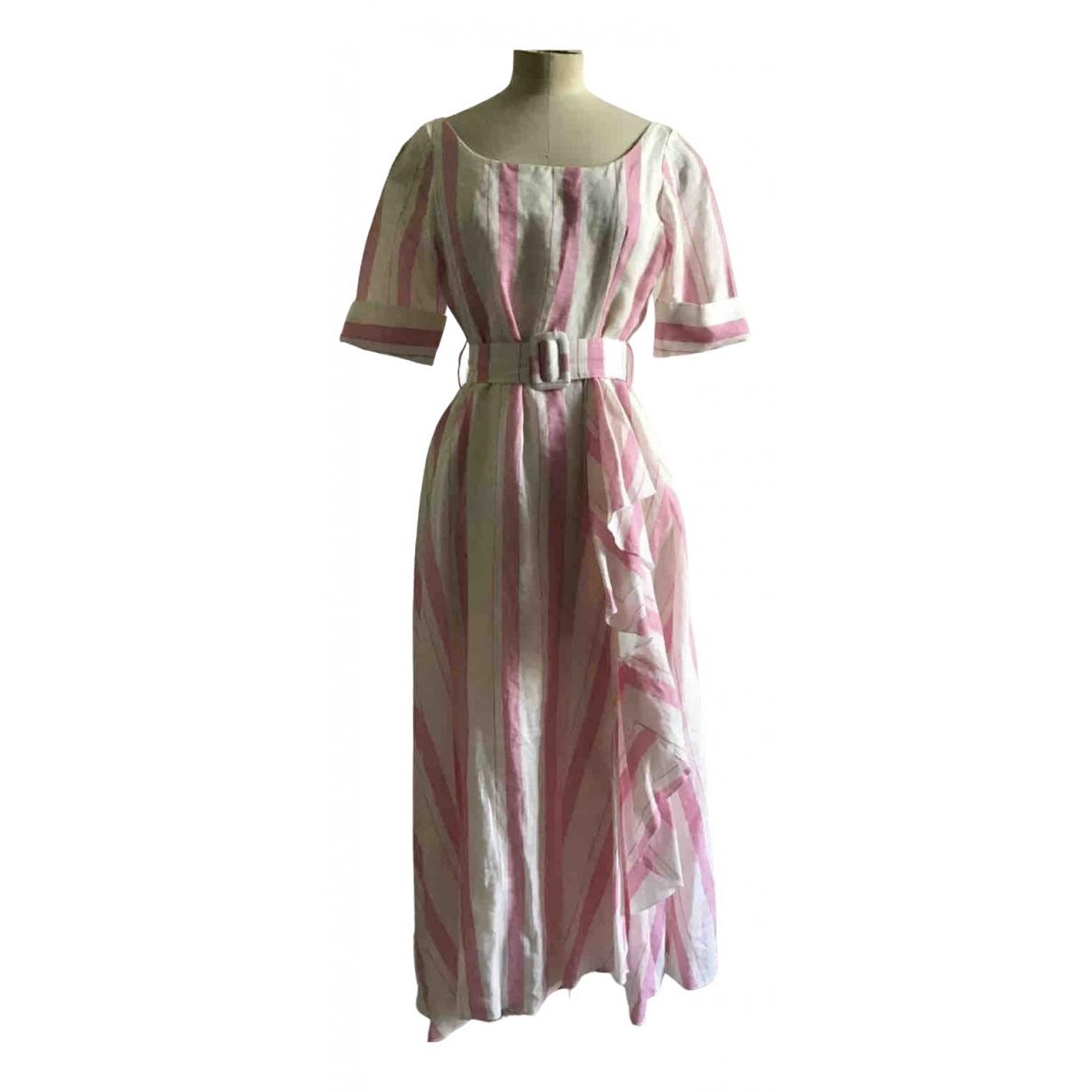 Gul Hurgel \N Pink Linen dress for Women M International