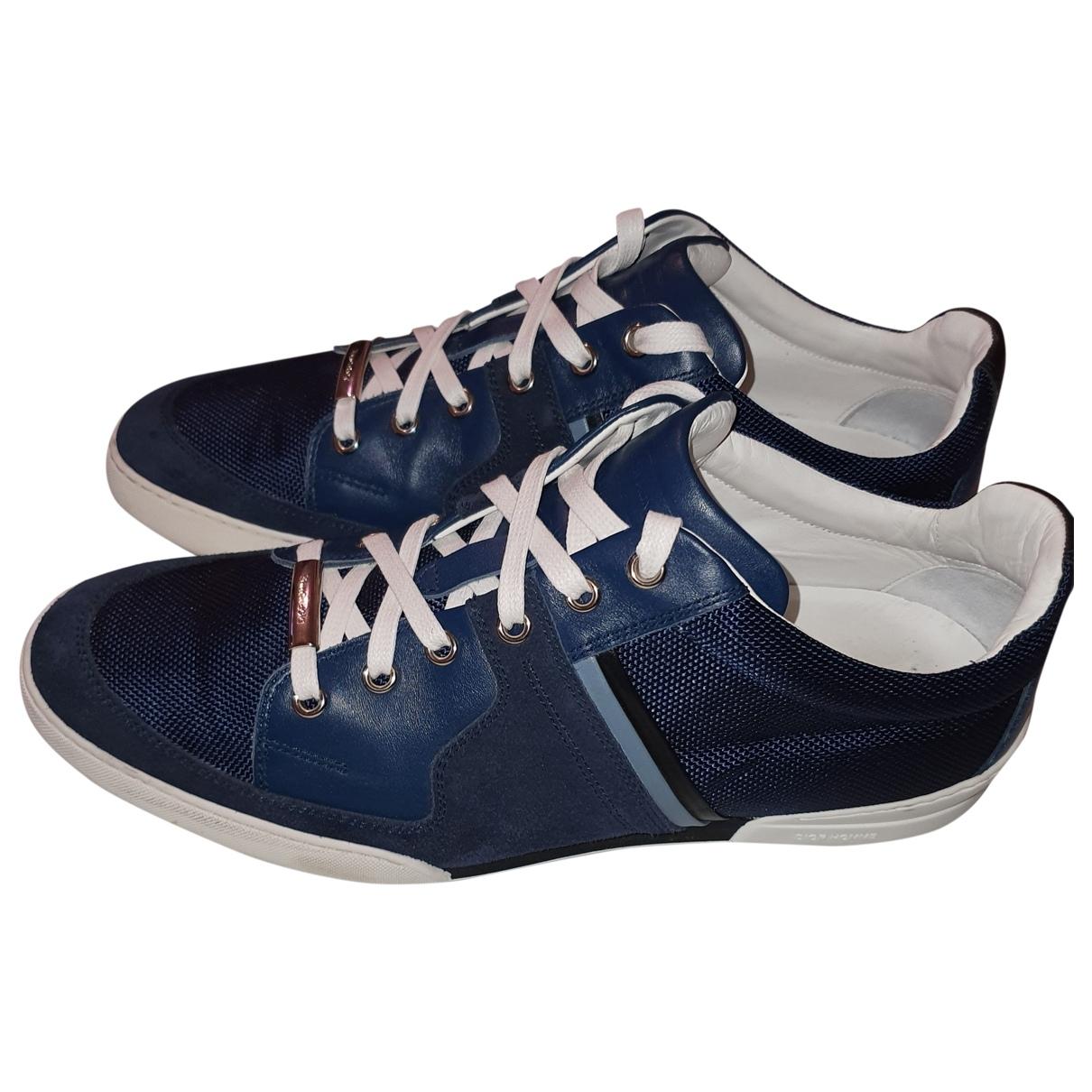 Dior Homme - Baskets B18 pour homme en cuir - bleu