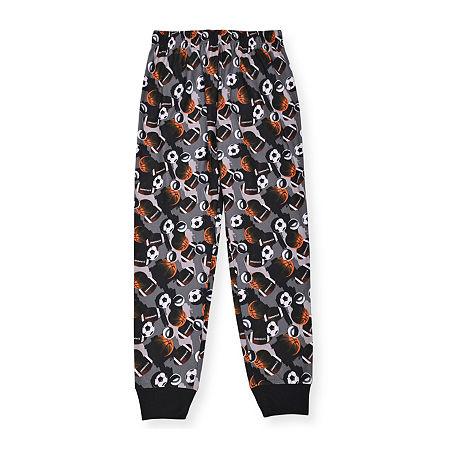 Little & Big Boys Pajama Pants, Large (14-16) , Gray